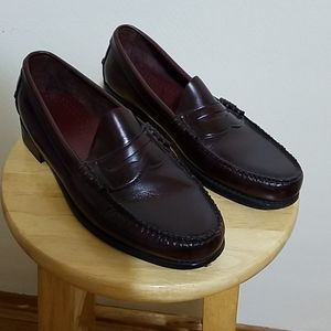 J. DEXTER Leather Loafers